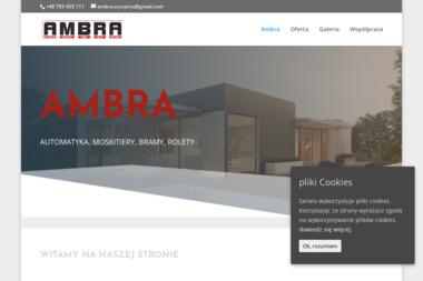 AMBRA - Producent Żaluzji Szczytno