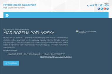 Psychoterapia uzależnień - mgr B. Popławska - Terapia uzależnień Złotoryja