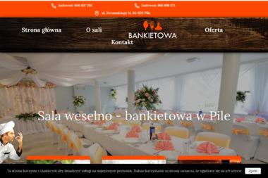 Sala bankietowo-weselna - Lokale gastronomiczne Pi艂a