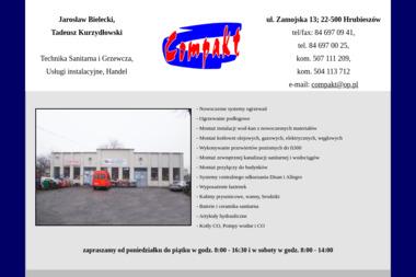 """PHU """"COMPAKT"""" - Instalacje grzewcze Hrubieszów"""