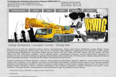 Dzwig-Mar s.c - Firmy inżynieryjne Nowa Biala