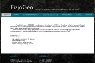 FizjoGeo - Usługi Geologiczne Wrocław