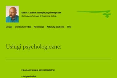 Gelter Gabinet psychoterapii - Psycholog Potok