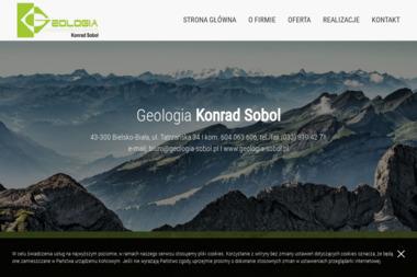 Geologia Konrad Sobol - Usługi Geologiczne Bielsko-Biała