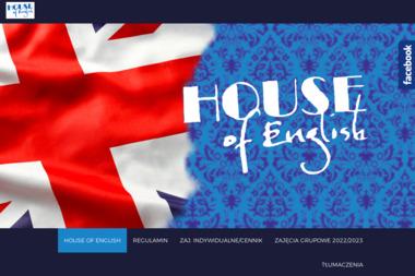 HOUSE OF ENGLISH - Szkoła językowa Łęczna