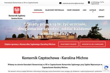 Komornik Sądowy Karolina Michno - Usługi finansowe Częstochowa