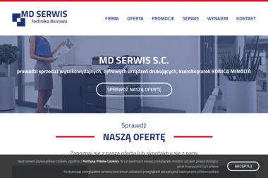 MD SERWIS S.C. - Kserokopiarki Używane Poznań