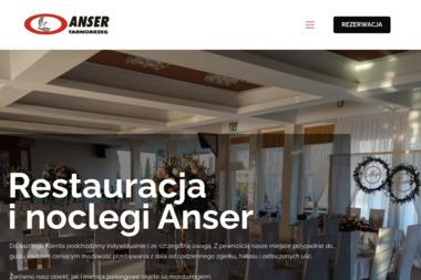 Restauracja i pokoje noclegowe ANSER - Gastronomia Tarnobrzeg