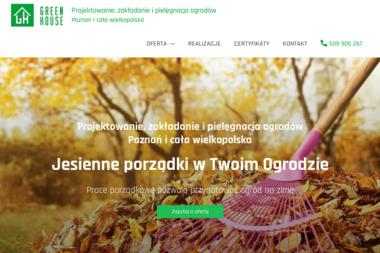 Greenhouse Jacek Serwach - Projektowanie ogrodów Nowy dębiec
