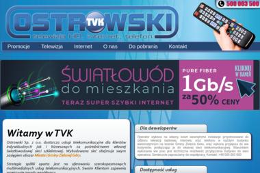 TVK Ostrowski - Internet Zielona Góra