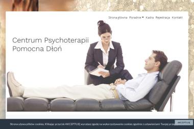 """Centrum Psychoterapii """"Pomocna Dłoń"""" - Terapia uzależnień Szprotawa"""