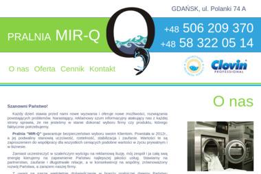 PRALNIA MIR-Q - Pranie i prasowanie Gdańsk