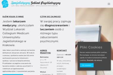 Specjalistyczny Gabinet Psychiatryczny - Lek. Med. Wioleta Komar - Psycholog Wieluń