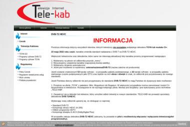 """Z.T.K. """"TELE-KAB"""" - Internet Kluczbork"""