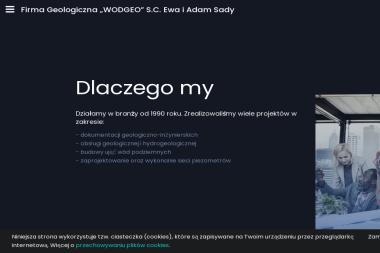 """Firma Geologiczna """"WODGEO"""" - Badanie Geotechniczne Bystra"""