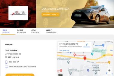 Ośrodek Szkolenia Kierowców X-Drive - Nauka Jazdy Legnica