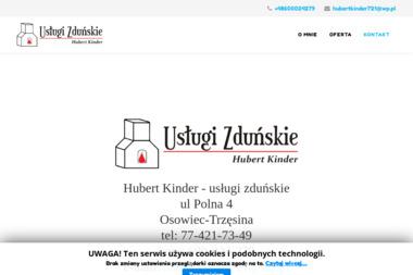 Hubert Kinder - Usługi Zduńskie Osowiec