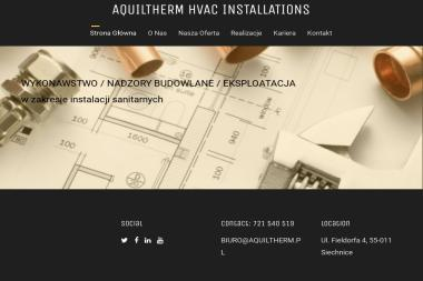 AQUILTHERM - Instalacje gazowe Siechnice