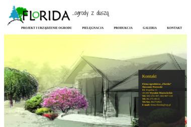 """Firma ogrodnicza """"Florida"""" - Ogrodnik Wysokie Mazowieckie"""