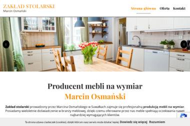 Zakład stolarski Marcin Osmański - Meble Na Zamówienie Suwałki