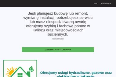 Hydraulik Kalisz - Instalacje grzewcze Kalisz