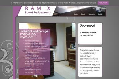 RAMIX - Produkcja Mebli Na Wymiar Suwałki