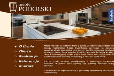 Meble Podolski - Nowoczesne Kuchnie Brodnica