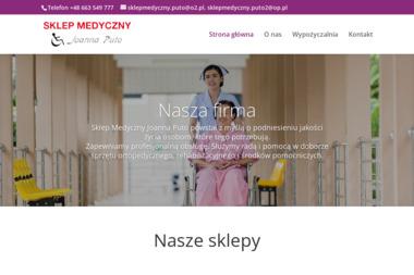 Sklep Medyczny Joanna Puto - Sprzęt rehabilitacyjny Zawiercie