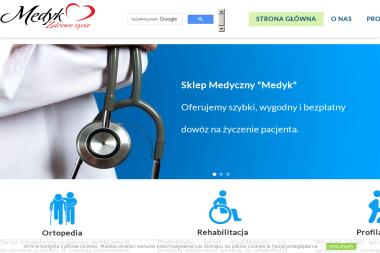 """Sklep Medyczny """"Medyk"""" - Sprzęt rehabilitacyjny Zawiercie"""