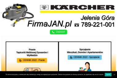 """Firma """"JAN"""" - Czyszczenie Tapicerki Samochodowej Jelenia Góra"""