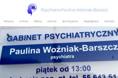 Psychiatra Paulina Woźniak-Barszcz - Psycholog Elbląg