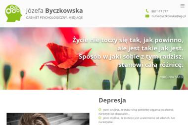 Psycholog Józefa Byczkowska - Psycholog Kartuzy