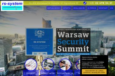 RS - SYSTEM - Alarmy Michałowice