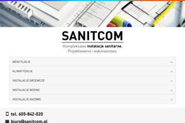 Sanitcom - Instalatorzy CO Zduńska Wola