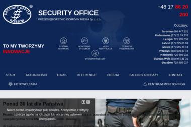SecurityOffice - Agencja ochrony Rzeszów