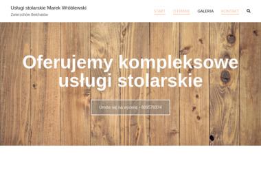 MAREK WRÓBLEWSKI USŁUGI STOLARSKIE - Balustrady drewniane Zwierzchów