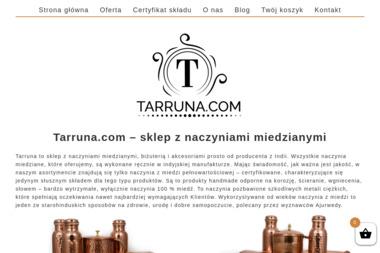 Tarruna Naczynia Miedziane - Agencja interaktywna Kościan