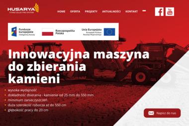 Husarya - Innowacyjna maszyna do zbierania kamieni - Maszyny rolnicze Dzierzążnia