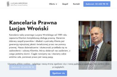 Kancelaria prawna Lucjan Wroński - Doradca Podatkowy Wodzisław Śląski