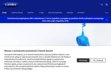 CANDIA Sp.J. Rozlewnia gazu płynnego - Zaopatrzenie w gaz Jaworzno