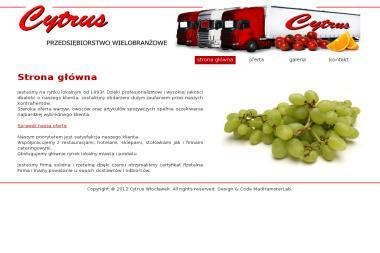Cytrus - Przedsiębiorstwo Wielobranżowe - Warzywa Włocławek