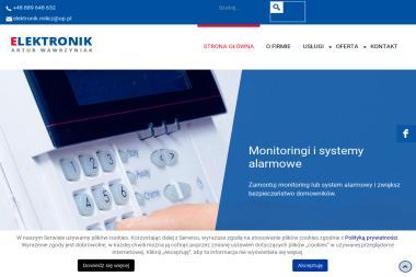 ELEKTRONIK ARTUR WAWRZYNIAK - Alarmy Milicz