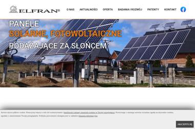 ELFRAN - Kolektory słoneczne Nowy Targ