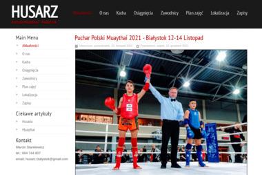 Husarz - Sporty walki, treningi Białystok