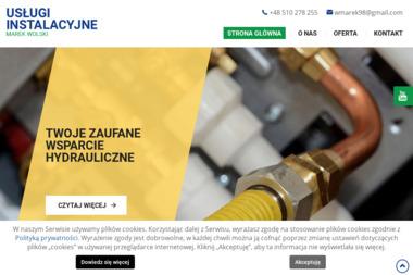 Usługi instalacyjne - Marek Wolski - Wykonanie Instalacji Gazowej Strzyżów