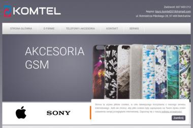 KOMTEL GSM - Serwis komputerów, telefonów, internetu Bełchatów