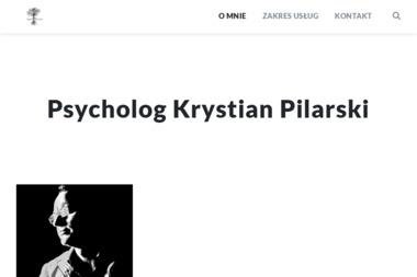 Psycholog Krystian Pilarski - Psycholog Goleniów