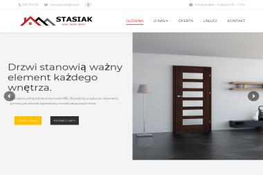 Stasiak Okna Podłogi Drzwi - Hurtownia Parapetów Pasłęk