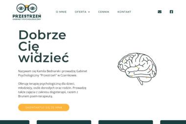 """GABINET PSYCHOLOGICZNY """"PRZESTRZEŃ"""" - Psycholog Czarnków"""