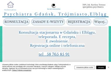 Psychiatra Tomasz Kardasz - Psycholog Elbląg
